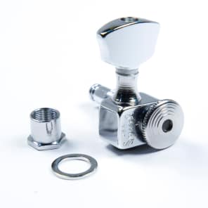 Sperzel Sperzel Trim-Lok EZ-Mount 3x3 Chrome locking tuners - No Drilling!  Chrome for sale