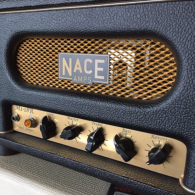 nace amps m1 18r 18 watt boutique guitar amp head very reverb. Black Bedroom Furniture Sets. Home Design Ideas