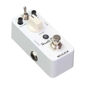 Mooer Hustle Drive MICRO Overdrive Booster Pedal True Bypass NEW IN BOX Free Shipping