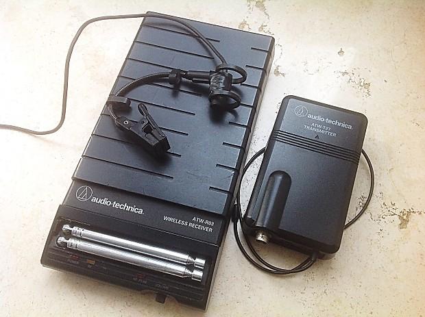 Audio technica atw r sistema wireless reverb