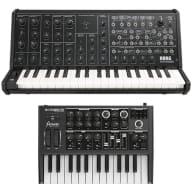 Korg MS-20 Mini Analog Synth Keyboard + Arturia Microbrute Combo