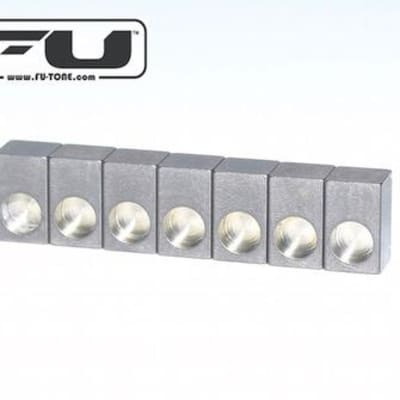 FU-Tone Floyd Rose String Lock Blocks - Titanium (6)