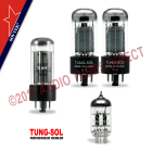Tung-Sol/Sovtek Tube Set For Gibson GA16T Amps with 6V6 12AX7 5Y3 image