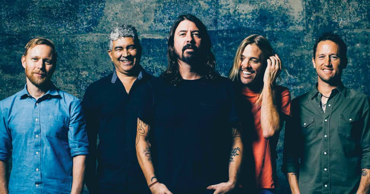 The Gear of Foo Fighters