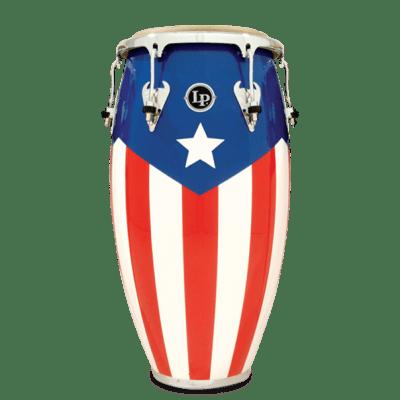 "Latin Percussion Matador Series 11 3/4"" Puerto Rican Heritage Tumba M752S-PR"