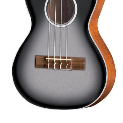 VGS VGS Tenor E-Akustik Ukulele Manoa Roadie R-TE-CE Silver for sale
