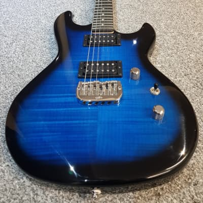 G&L Superhawk Deluxe, Jerry Cantrell, Alice in Chains - Blueburst - MINT for sale