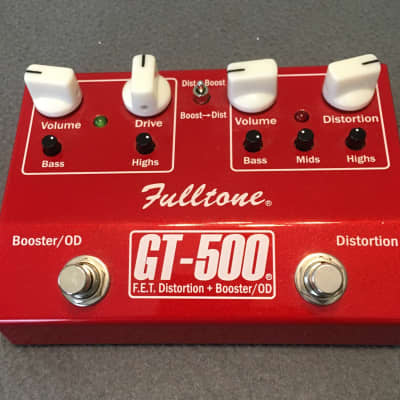 Fulltone GT-500, Fat Boost with Distortion
