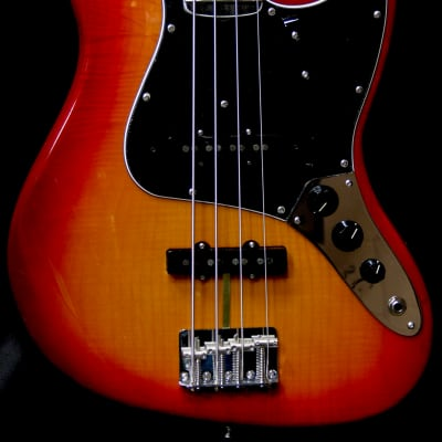 Fender Rarities Flame Ash Jazz Bass for sale