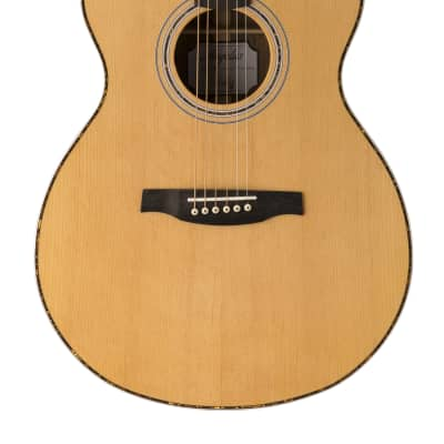 PRS Angelus Series A40E Cutaway Natural Acoustic/Electric Guitar With Hard Case for sale