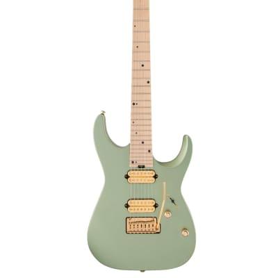 Charvel Angel Vivaldi Signature DK24-7 Nova, Maple Fingerboard, Satin Sage Green for sale