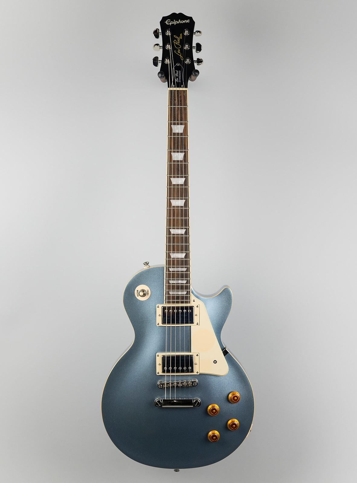 Used Epiphone Les Paul Standard In Pelham Blue