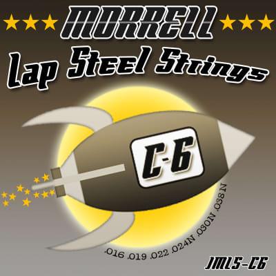 Morrell JMLS-C6 Nickel Steel 6-String Lap Steel Guitar Strings for C6 Tuning for sale