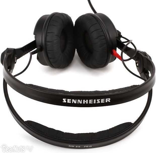 sennheiser hd 25 plus closed back on ear studio headphones reverb. Black Bedroom Furniture Sets. Home Design Ideas