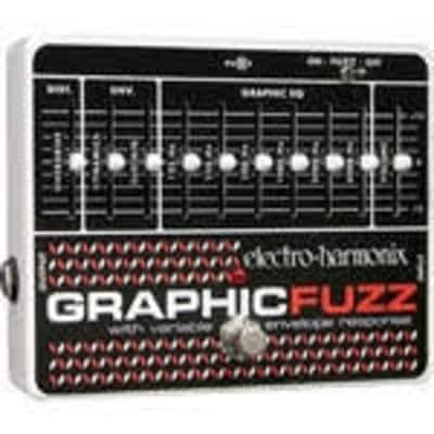Electro-Harmonix Graphic Fuzz | EQ / Distortion / Sustainer Pedal. Brand New!