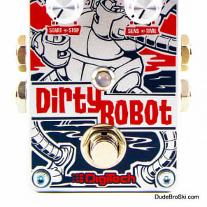 Digitech DirtyRobot - Unique Stereo Synthesizer Emulation Pedal for Guitar and Bass for sale