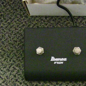 Ibanez IFS2M 2-Button Amp Footswitch