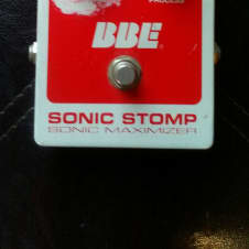 BBE Sonic Stomp Sonic Maximizer Pedal for Electric Guitar