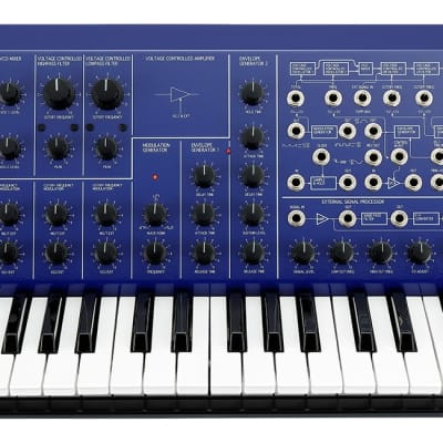 Korg MS-20 Full Size - Limited Edition (IN STOCK) - Blue