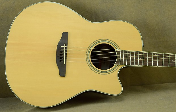 Ovation cs24 4 celebrity acoustic electric guitar standard reverb
