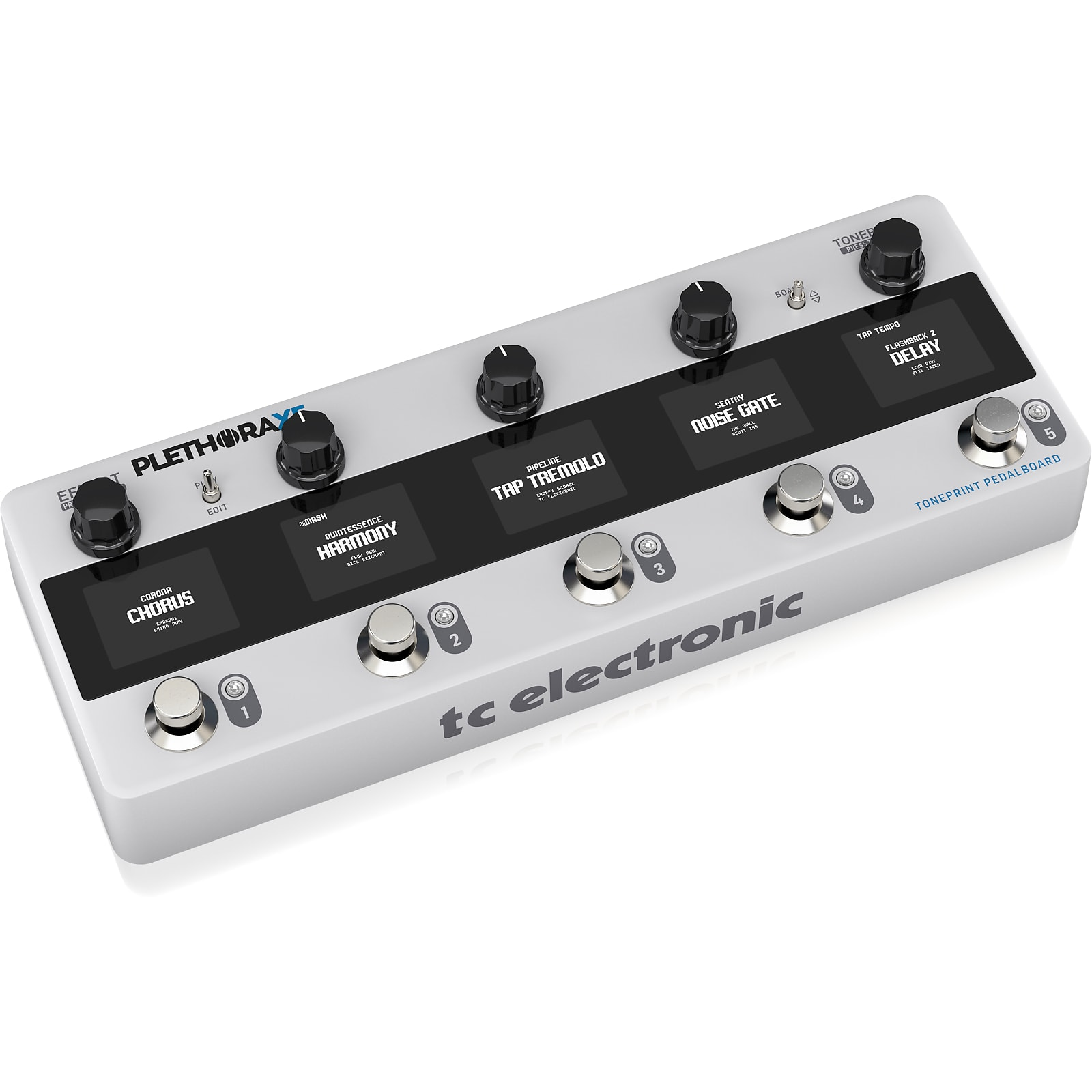 TC Electronic Plethora X5 TonePrint Multi-Effects Pedalboard (In Stock and Shipping Now!)