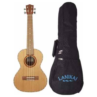 Model HSS613 LANIKAI Padded Nylon Zippered Tenor Size Ukulele Gig Bag