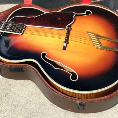 Vintage Favilla Top-of-the-line Archtop Jazz guitar Sunburst for sale