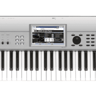 Korg Krome 61-Key Limited Edition Digital Synthesizer Workstation Platinum