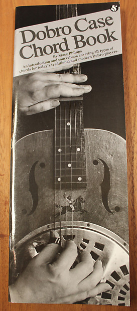 Dobro Case Chord Book Guitar Instructional Book | Reverb