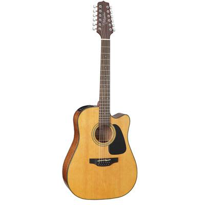Takamine GD30CE 12 String Mahogany Dreadnaught Cutaway Natural Electro Acoustic Guitar for sale