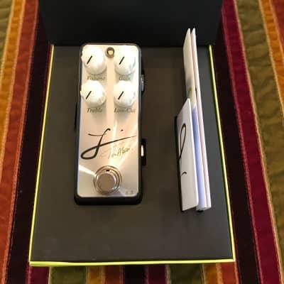 L'  Tosin Abasi signature drive pedal Shun Nokina design Shun Nokina  Black/silver for sale