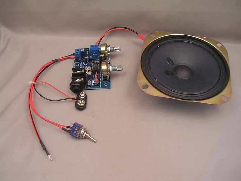 Pleasant 9V Mini Cigar Box Amp W Upgraded Pots Speaker Wiring Reverb Wiring 101 Cominwise Assnl