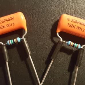 Treble Bleed DIY Kit Orange Drop  001uF capacitors + 100K