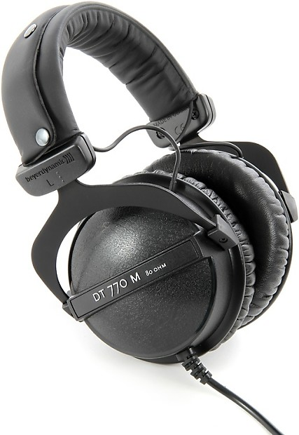 beyerdynamic dt 770 m 80 ohms closed diffuse field headphones reverb. Black Bedroom Furniture Sets. Home Design Ideas