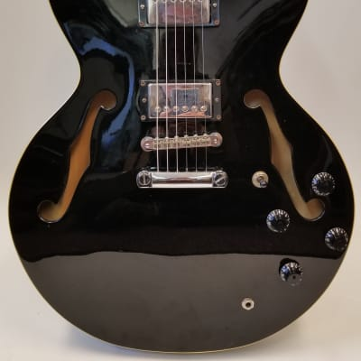 Cort Used Source Semi Hollow Double Cutaway Electric Guitar Black for sale