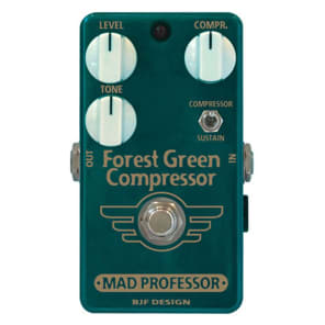 Mad Professor Forest Green Compressor Hand-Wired for sale