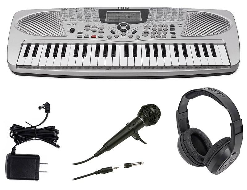 medeli mc37a 49 key portable usb keyboard power reverb. Black Bedroom Furniture Sets. Home Design Ideas