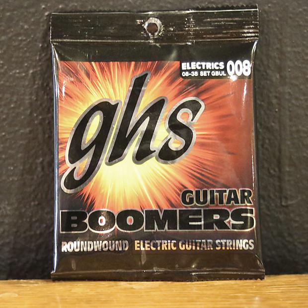 ghs gbul boomers electric guitar strings ultra light 8 38 reverb. Black Bedroom Furniture Sets. Home Design Ideas