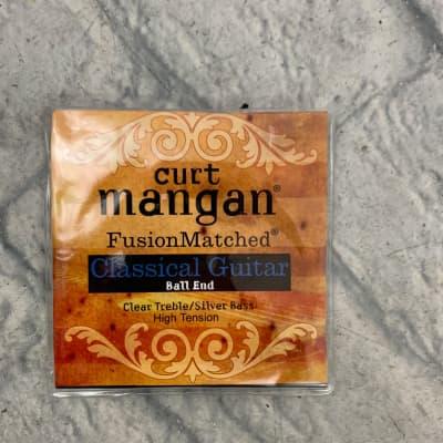 Curt Mangan 90612 Fusion Matched Classical Guitar Nylon Strings - High Tension Ball End