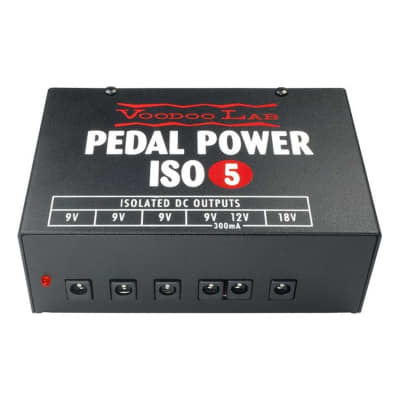 Voodoo Lab Pedal Power ISO-5 Power Supply Open Box Mint