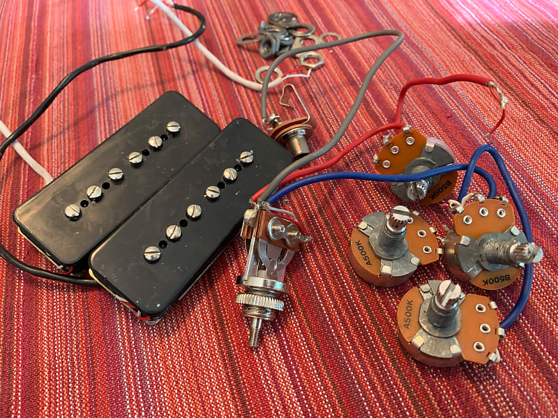 P90 pickups + wiring harness from Epiphone SG Special '61 | Reverb on wire nut, wire connector, wire sleeve, wire antenna, wire cap, wire ball, wire holder, wire clothing, wire lamp, wire leads,