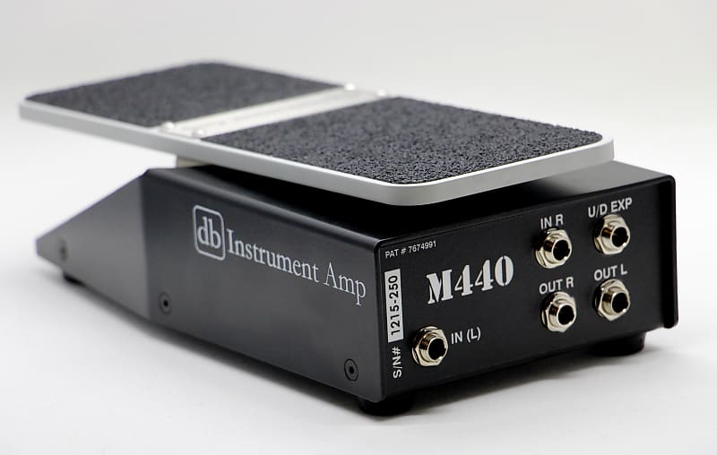 db instrument amp m440 dual axis stereo volume pedal 2019 reverb. Black Bedroom Furniture Sets. Home Design Ideas
