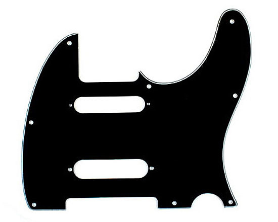 replacement nashville tele style guitar pickguard 3ply black reverb. Black Bedroom Furniture Sets. Home Design Ideas