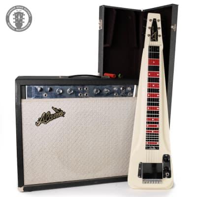 1960s Alamo Montclair 2565 Lapsteel w/ Matching Amp for sale
