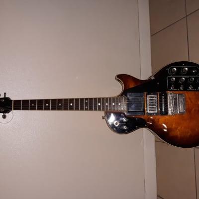Roland Gr-500 Synthetizer Gr-500 1980Black & Orange