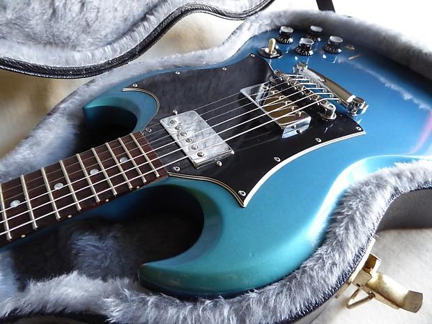 7d3bbd437 Gibson SG 2001 Blue Teal Flip Flop
