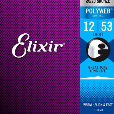 Elixir PolyWeb 80/20 Acoustic Light 12-53, 11050