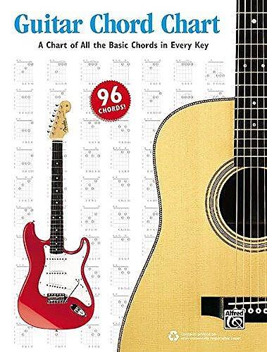 Guitar Chord Chart Music Books Plus Reverb
