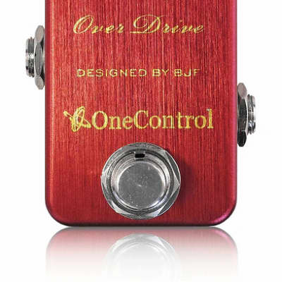 One Control BJF Series Strawberry Red Overdrive - One Control BJF Series Strawberry Overdrive for sale