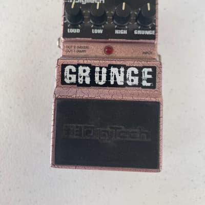 Digitech DGR Grunge Analog Distortion Overdrive Guitar Effect Pedal for sale